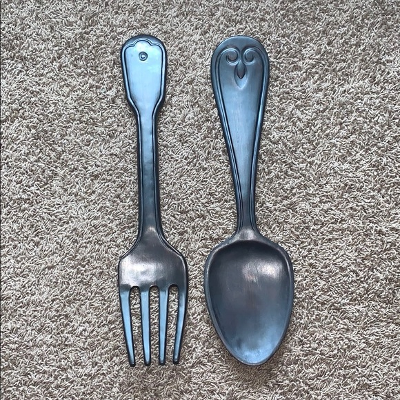 Hobby Lobby Kitchen Hobby Lobby Fork And Spoon Utensils Wall Decor Poshmark